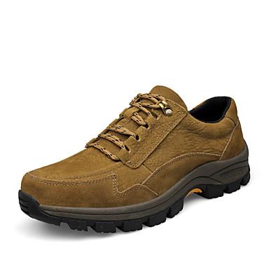 Sapatos Aventura Masculino Marrom / Khaki Couro