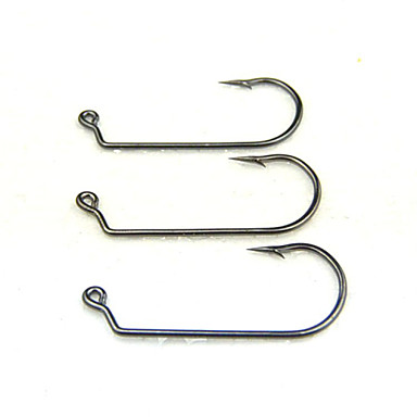 Fishing-10 pcs Black Stainless Steel / Iron-AnmukaSea Fishing / Fly Fishing / Bait Casting / Ice Fishing / Freshwater Fishing / Other /