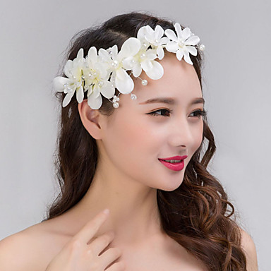 Tulle Lace Headbands Flowers Wreaths 1 Wedding Special Occasion Headpiece