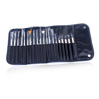 1 Adet tırnak sanat fırça seti boya kalemi noktası matkap kalem 20 kez matkap kalem çanta harcamak harcamak çekmek kaplı