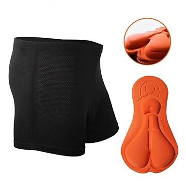 Nuckily Cycling Under Shorts Women's Unisex Bike Shorts Boxers Underwear Shorts Padded Shorts/Chamois Bottoms Bike Wear Quick Dry