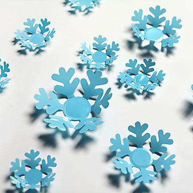 Karácsony / Romantika / Ünneő / 3D Falimatrica 3D-s falmatricák , PVC 9cm(2pcs)、7cm(2pcs)、5cm(8pcs)