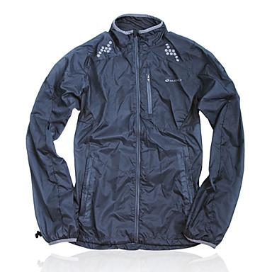 Nuckily Kerékpáros kabát Női Uniszex Bike Viharkabátok Zakó Dzsörzé Odjeća koja štiti od sunca Felsők Tél Kerékpáros ruházat Vízálló