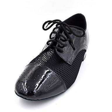 Szabványos méret - Alacsony - Lakkbőr - Flamenco / Swing-cipők - Férfi / Gyermek