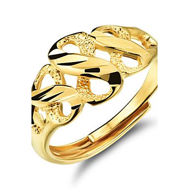 Női Karikagyűrűk jelmez ékszerek Arannyal bevont Ékszerek Kompatibilitás Esküvő Parti Napi Hétköznapi Sport
