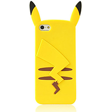 Case For iPhone 5 Apple iPhone 5 Case Shockproof Back Cover 3D Cartoon Soft Silicone for iPhone SE/5s iPhone 5