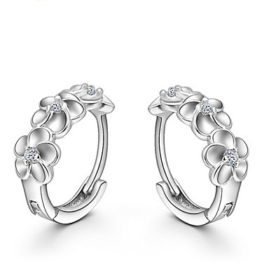 Women's Stud Earrings - Sterling Silver For Wedding / Party / Daily