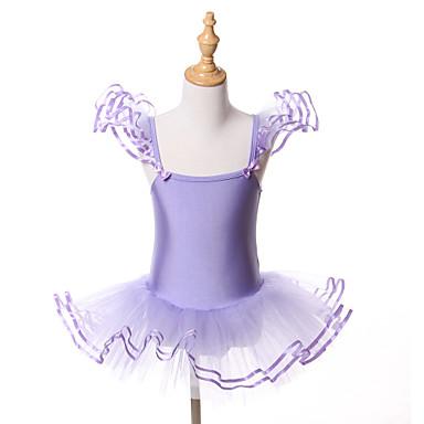Μπαλέτο Τούτους Τούτους & Φούστες Φορέματα Παιδικά Επίδοση Εκπαίδευση Σπαντέξ Τούλι Φιόγκος(οι) 1 Τεμάχιο Αμάνικο Halloween Πριγκίπισσα