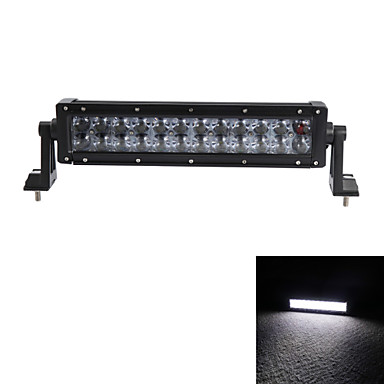 Недорогие Автомобильные светодиодные лампы-12inch 120w водить потока работы свет бар Offroad вождения 4wd грузовик АТВ