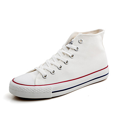 Women's Lover Shoes Fashion Sneakers Canvas Shoes Black / White / Navy / Red