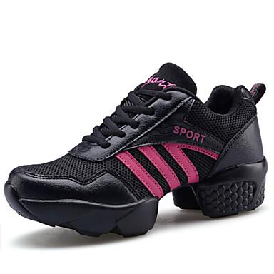 Düşük Topuk - Deri - Dans Sneakerları / Modern - Kadın - Kişiselletirilmemiş