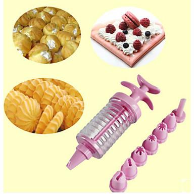 Bakeware araçları Plastik Kendin-Yap Kek Pasta Kalıpları 1pc