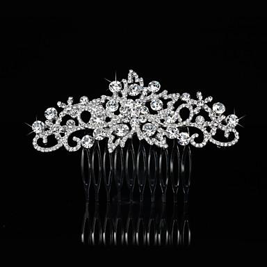 alaşım Çiçek  -  Saç Combs Başlık 1pc Düğün Özel Anlar Başlık