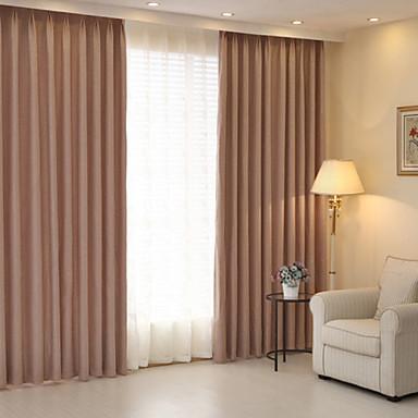ราคาถูก การรักษาหน้าต่าง-ผ้าม่านทึบม่านสองแผง / jacquard / ห้องนอน