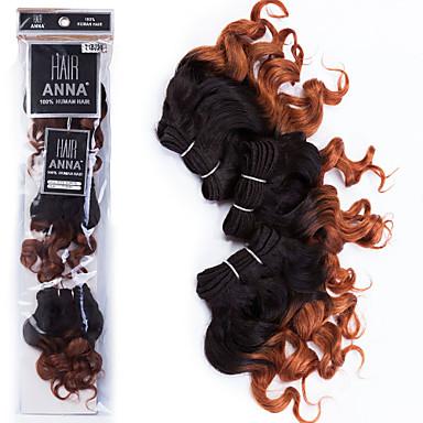 Cheveux Brésiliens Bouclé Classique Tissages de cheveux humains Haute qualité Quotidien
