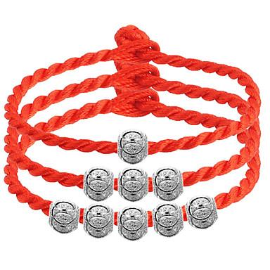 billige Motearmbånd-Vedhend Armband Perlearmbånd Perler damer Sølv Armbånd Smykker 3# / 4# / 5# Til Bryllup Fest Daglig Avslappet