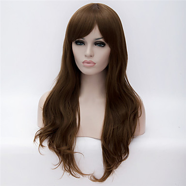 Europe And The United States The New Ms Brown Hair Naturally Curly Wig