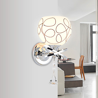 20*30CM Creative Contemporary And Contracted Creative Crystal Wall Lamp Led Lights