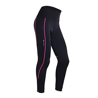 Nuckily Kerékpáros nadrág Női Bike 3/4 Tights Alsók Kerékpáros ruházat Melegen tartani Gyors szárítás Szélbiztos Anatómiai tervezés