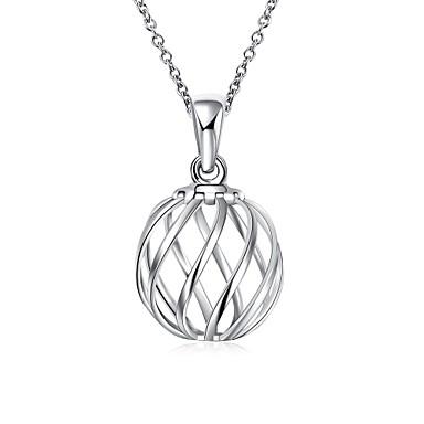 Femme Collier court /Ras-du-cou Pendentif de collier Colliers Déclaration Forme de Croix Forme Géométrique Argent sterlingMode Creux