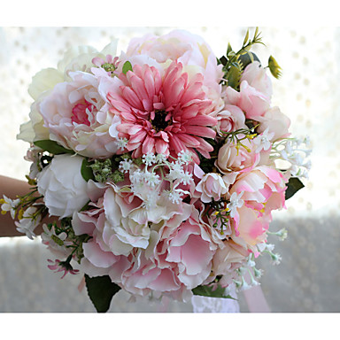 Wedding Flowers Bouquets Wedding Party / Evening Polyester Satin 13.78