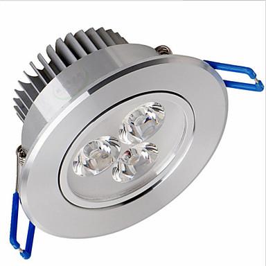 6W Luz de Decoração 3 LED de Alta Potência 600 lm Branco Quente / Branco Frio Regulável / Decorativa AC 100-240 V 1 pç