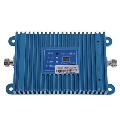inteligência banda dupla GSM / 3G 900 / 2100MHz amplificador de telefone celular sinal de reforço