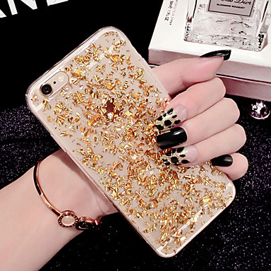 Case For Apple iPhone 6 iPhone 6 Plus Transparent Back Cover Glitter Shine Soft TPU for iPhone X iPhone 8 Plus iPhone 8 iPhone 7 Plus