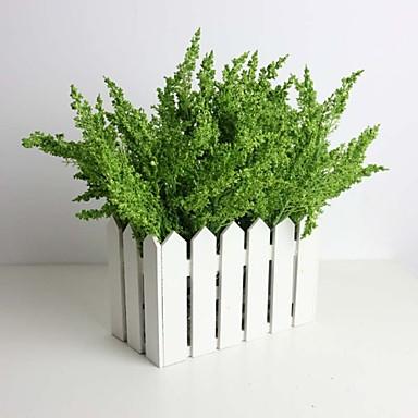 Ág Selyem Styro hab Műanyag Növények Asztali virág Művirágok