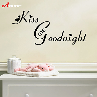 Decorative Wall Stickers - Plane Wall Stickers Landscape / Animals Living Room / Bedroom / Bathroom / Removable / Re-Positionable