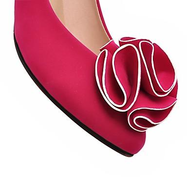 04789552 Avec Eté Kitten Chaussures Rouge Automne Similicuir Printemps Femme Noir Fille Habillé Heel Pour 8xOIUqnS