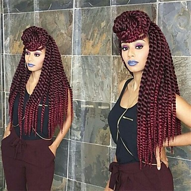 blue Havana Twist Braids Hair Extensions 22inch Kanekalon 2 Strand 80g/pcs gram Hair Braids
