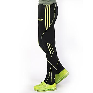 FJQXZ Erkek Legginsy do biegania - Kırmzı, Yeşil, Gri Spor Dalları Pantalonlar Serbest Sporlar, Bisiklete biniciliği / Bisiklet, Koşma