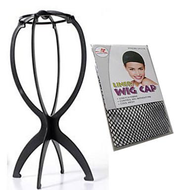 Plastik Wig Accessories Klipsler 10000 Peruk Standları Peruk Kapları Klasik Yüksek kalite Günlük