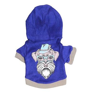 Hund Kapuzenshirts Hundekleidung Lässig/Alltäglich Cartoon Design Kostüm Für Haustiere