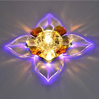 Flush Mount Ambient Light - Crystal, LED, 220-240V Bulb Included / 10-15㎡