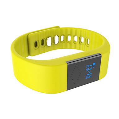M1 Aktivitetsmonitor Smart armbånd iOS Android iPhone Kalorier brent Pedometere Vekkerklokke Distanse måling Voice Control Søvnsporing