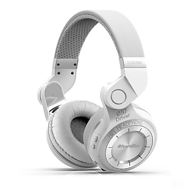 Bluedio t2 + bluetooth stereo kablosuz kulaklık mikrofon mikro sd / fm radyo bt4.1 kulak üstü kulaklık inşa