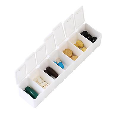 Travel Carcasă Cutie Pilule Călătorie Portabil Accesorii Călătorie pentru Urgență Plastic