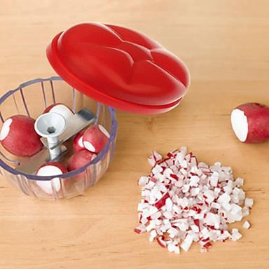 Gyümölcs & zöldség szeletelők Rozsdamentes acél / ABS ,