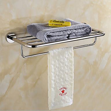 Fürdőszobai polc , Kortárs Tükörfényes Falra rögzített