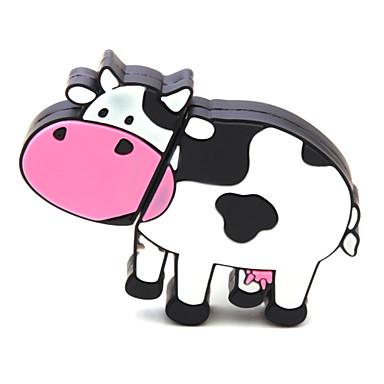 zpk40 8GB lehmän sarjakuva usb 2.0 muistitikku u kiinni