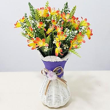 Műanyag Orchideák Művirágok