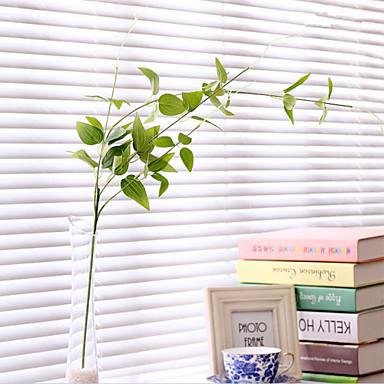 Kunstige blomster 1 Gren Enkel Stil Planter Veggblomst
