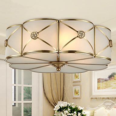 4-Işık Sıva Altı Monteli Ortam Işığı - LED, 220-240V, Sıcak Beyaz / Beyaz, Ampul Dahil / 10-15㎡ / E26 / E27