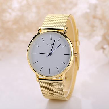 Masculino Mulheres Relógio de Moda Quartzo Relógio Casual Aço Inoxidável Banda Boêmio Prata Dourada Prata Dourado