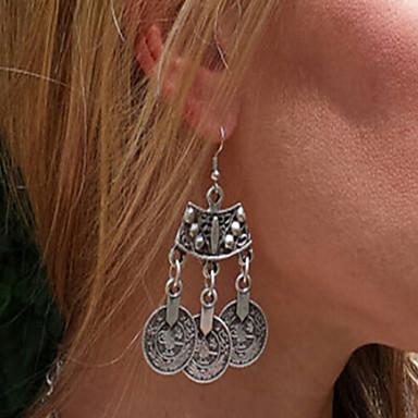 נשים עגילי טיפה תכשיטים גדולים סטייל פאנק אופנתי תכשיטים כסף סטרלינג תכשיטים עבור