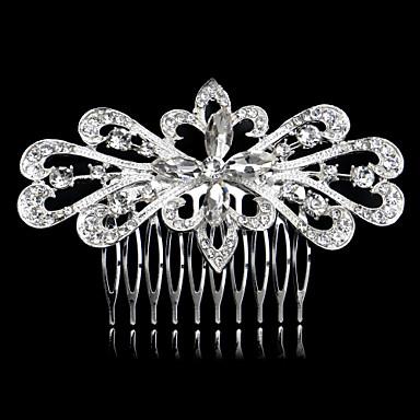 rhinestone hair combs headpiece svadbena stranka elegantan ženski stil