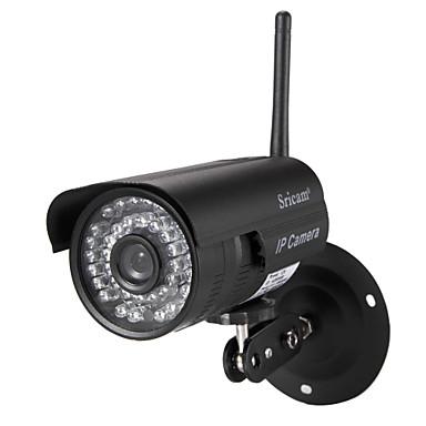 Sricam® 1.0MP IP Camera Waterproof Day Night Wireless 1/4 Inch Color CMOS Sensor