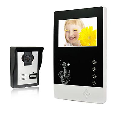 2015 novi dolazak 4,3 inčni TFT LCD monitor i noćni vid vanjski kamera video parlafon za vilu